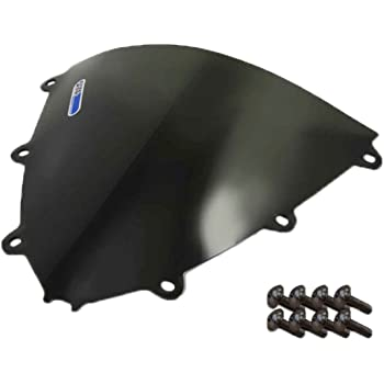 2 Pack Honda Cbr 1000RR Sportbike Windscreens ADHW-109DS Dark Smoke Windscreen With Silver screw kit 08-11