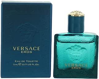 Versace Eros by versace 0.17 oz (5 ml) EDT Splash Men Mini NEW IN BOX