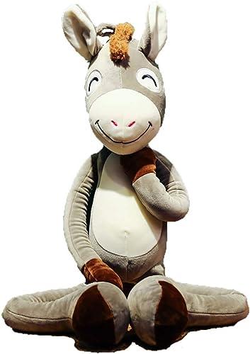 GJF Daunenbaumwolle freches Pferd Figur plüsch Spielzeug langes Bein Pferd Kissen senden Freundin Freund Geschenk lustige Puppe (Größe   100CM)