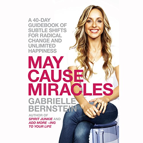 May Cause Miracles audiobook cover art