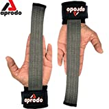 Aprodo Power Weight Lifting Bar Straps with Wrist Support Wraps, Gym Workout, Bodybuilding