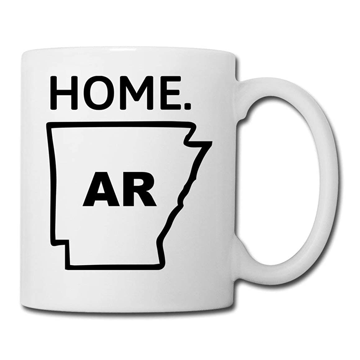 State Of Arkansas,Coffee Cups White