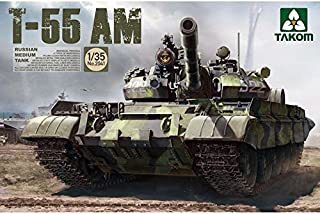 TAKom T-55 AM Russian Medium Tank Model Kit