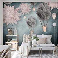 Iusasdz カスタム大きな壁紙壁画3Dシンプルな3次元の子供部屋の背景壁紙壁画280X200Cm