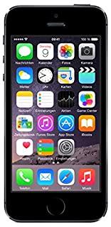 Apple iPhone 5S Smartphone 16GB (10,2 cm (4 Zoll) IPS Retina-Touchscreen, 8 Megapixel Kamera, iOS 7) Spacegrau (B00F8JHGXM) | Amazon price tracker / tracking, Amazon price history charts, Amazon price watches, Amazon price drop alerts
