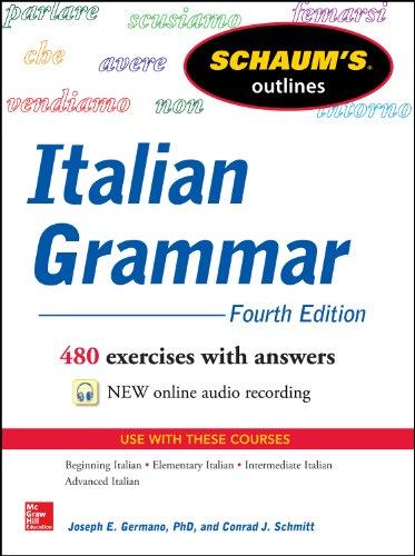 Schaum'S Outline of Italian Grammar, 4th Edition (Очерки Шаума)