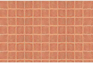 JTT Scenery Products Plastic Pattern Sheets: Square Tile
