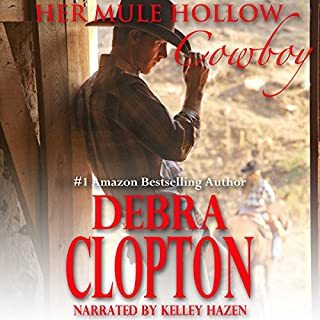 Her Mule Hollow Cowboy (Book 1 New Horizon Ranch series)     A Mule Hollow Matchmakers book              By:                                                                                                                                 Debra Clopton                               Narrated by:                                                                                                                                 Kelley Hazen                      Length: 3 hrs and 9 mins     25 ratings     Overall 4.2