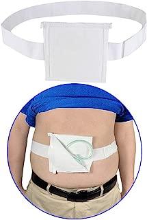 Feeding Tube Peritoneal Dialysis G Tube Belt Peg Suppiler Catheter Holder Gastrostomy Covers Pads Drainage Abdominal Dialysis Medical Belt for Men Women