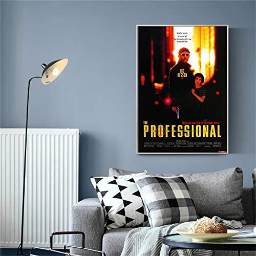BGFDV Cartel de la película Arte Pop Profesional impresión de la Lona decoración de la Pared del hogar Dormitorio Adolescente Arte Pintura Bar decoración de la habitación