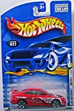 HOT WHEELS 2001 FIRST EDITIONS RED HONDA CIVIC SI #027