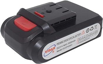 Sponsored Ad – 21V 3.0Ah Pruning-Shear Li-Ion Battery - VIDAR Real Capacity 10C High-Rate Discharge for KOHAM(30mm) VIDAR(...