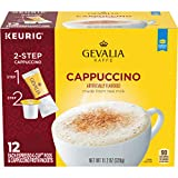 Gevalia Cappuccino K Cup Espresso Coffee Pods & Cappuccino Froth Packets, 12 ct - 11.28 oz Box (Pack of 3)