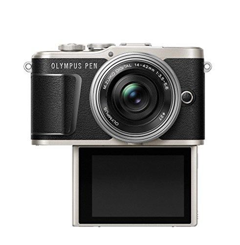 OLYMPUSミラーレス一眼カメラPENE-PL9レンズキットブラック
