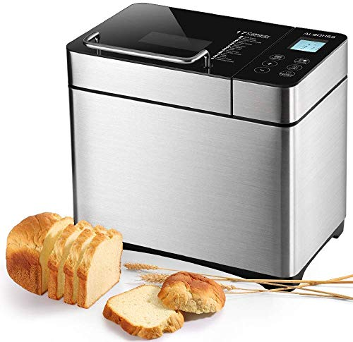 ALBOHES Stainless Steel Bread Maker