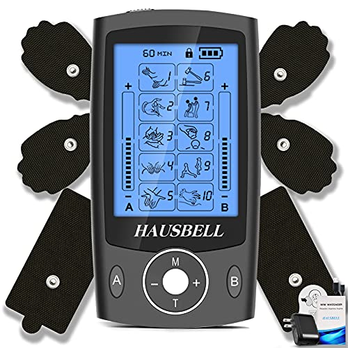 HAUSBELL Dual Channel TENS Machine