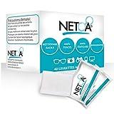 Netoa ®️ - Salviette detergenti per tutti i tipi di Lenti, Occhiali da vista e da sole, Binocoli, Smartphone, Tablet, Schermo del Computer, Schermo LCD, iPhone, iPad, Confezione da 160 Pezzi