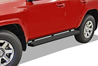 APS iBoard (Black Powder Coated 5 inches) Running Boards Nerf Bars Side Steps Step Rails Compatible with 2010-2016 Toyota 4Runner Trail & 17-20 TRD Off-Road & 2014-2020 SR5