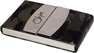 Style 98 Green (Army Print) Premium Business Credit Card Holder for Unisex