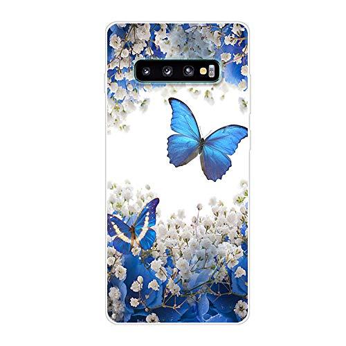 Funda para Samsung Galaxy S10+ Carcasa, TPU Fundas Case Carcasas para Samsung SM-G975F Galaxy S10+ / SM-G975N SM-G975U SM-G975D SGH-N936 SM-G975F/DS SM-G9750/DS / Galaxy S10 Plus Funda Concha Case HD