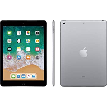 Amazon Com Apple Ipad 9 7in 6th Generation Wifi Cellular 32gb Silver Renewed Computers Accessories