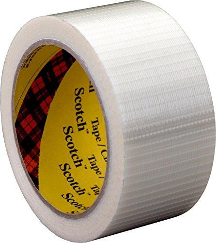 3M Tartan Filament-Klebeband Leistungsstark 8959 , 38 mm x 50 m, Transparent (1-er Pack)