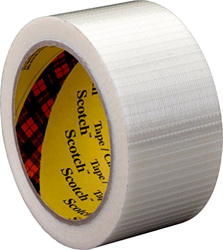 3M Tartan Filament-Klebeband Leistungsstark 8959 , 38 mm x 50 m, Transparent (1-er Pack)