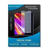 SWIDO Bildschirmschutz für LG G7 ThinQ [4 Stück] Kristall-Klar, Hoher Festigkeitgrad, Schutz vor Öl, Staub & Kratzer/Schutzfolie, Bildschirmschutzfolie, Panzerglas Folie