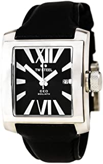TW Steel Watch for Men, Leather, CE3004