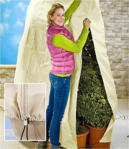 """Pflanzen-Schutz Vlies\""""beige\"""" 240x200cm,1 Stück"""