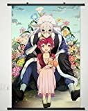 Wall Scroll Poster Fabric Painting For Anime Yona of the Dawn Shin-ah & Yona 004 L