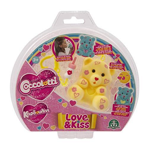 Giochi Preziosi- Love&Kiss Coccolotti, Colore Assortito, CCL09000