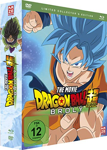 Dragonball Super: Broly - [Blu-ray + DVD] Limited Collector's Edition