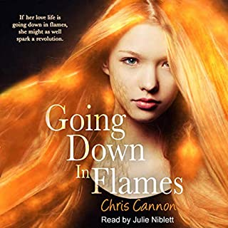 Going Down in Flames audiobook cover art