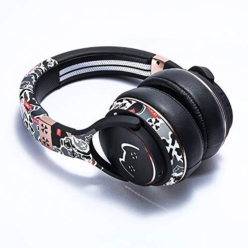LHYXEJ Casque de Sport, Casque à réduction de Bruit Active, Casque Bluetooth sans Fil, Casque Bluetooth sans Fil-Black