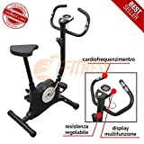 FLC201BN Offerta Cyclette ciclette Easy Belt Cardio Fitness Home Gym Bike Bici da Camera Resistenza Allenamento in casa