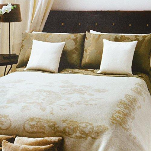 LANEROSSI Decke Manta von Wolle Artikel Achat Einzelbild cm 210x 160Reine Wolle