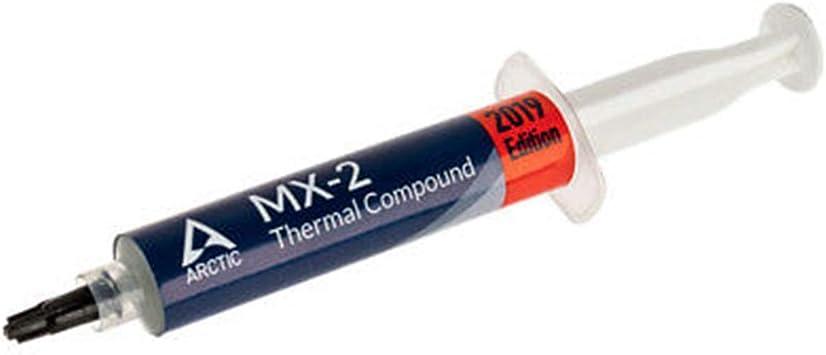 Arctic Mx 2 30 Gramm Qualitäts Wärmeleitpaste Für Alle Cpu Kühler Extrem Hohe Wärmeleitfähigkeit Niedriger Thermischer
