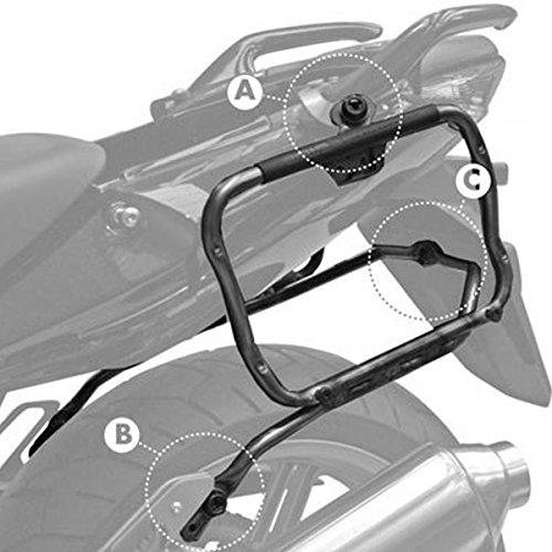 GIVI PLXR174 Rapid Stahlrohr-Seitenkofferträger - Abnehmbar