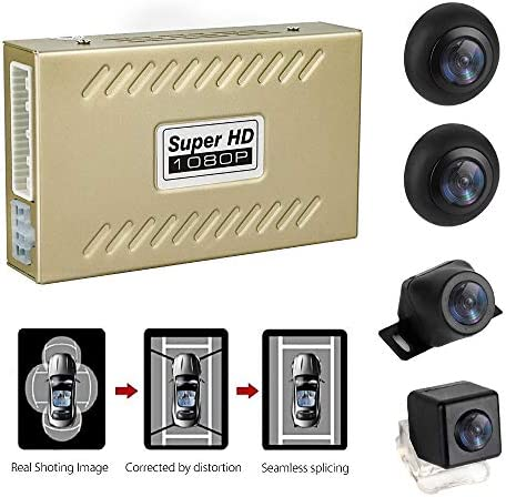 WeniChen 360 Degree Bird View Car Parking Assistance Panoramic View All Round 4 HD Camera System product image