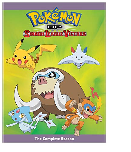 Pokemon The Series: Diamond and Pearl Sinnoh League Victors Complete Season (DVD)