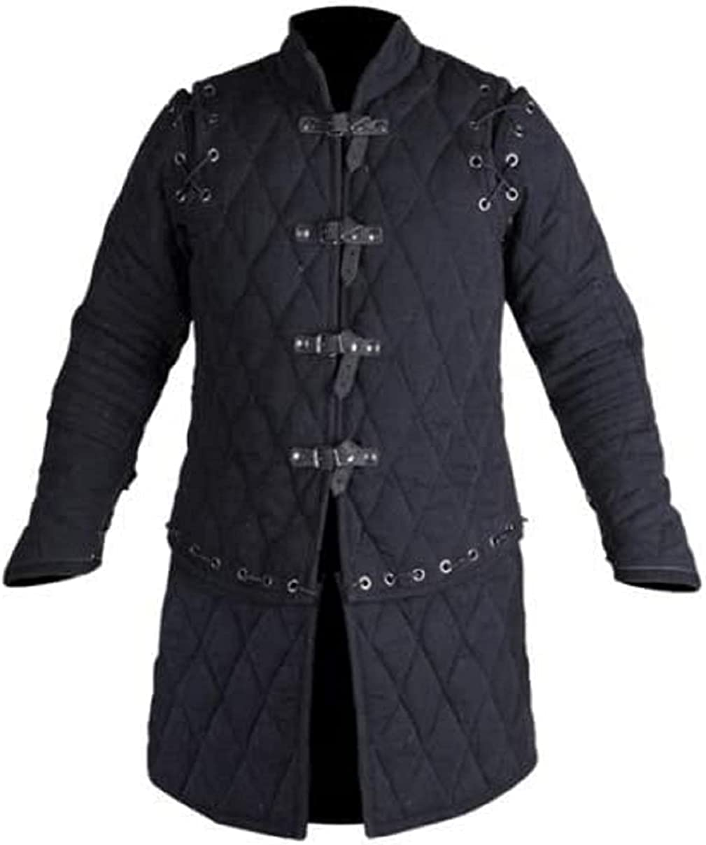 SANGAMSTEELCRAFT Thick Padded lowest Elegant price Medieval Jacket Costumes Gambeson