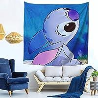 スティッチ Stitch 多機能壁掛け ファブリック装飾用品 おしゃれ モダンなアート 模様替え 部屋 窓カーテン 個性ギフト 新居祝い150x150cm