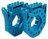 LEGO-Konnektoren für Dash & Dot Roboter von Wonder Workshop - spielerisch programmieren lernen für Mädchen und Jungs - MINT/STEAM Zubehör für Lernroboter