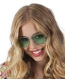 TH-MP Pilotenbrille 70er 80er Jahre Sonnenbrille Unisex Fliegerbrille Kostüm Zubehör Accessoire