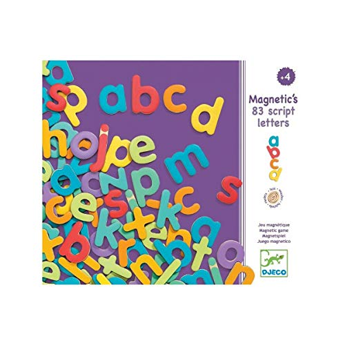 Lettres aimantées 83 script letters Djeco