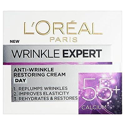 L'Oreal Paris Wrinkle Expert 55+ Calcium Anti-Wrinkle & Restoring Day Cream 50 ml from Loreal