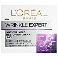 Anti-wrinkle day cream specifically designed for 55-65 skin Enriched with calcium, reduces the appearance of wrinkles Skin feels more elastic Dermatologically tested L'Oréal are removing the cellophane wrapper from the packaging of all L'Oréal Paris ...