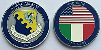 Challenge Coin Aviano Air Base