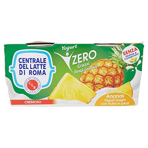 Centrale del latte di Roma Yogurt Magro Ananas, 2 x 125g